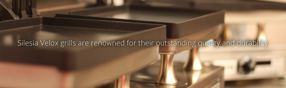 Silesia Velox grills are renowned for their outstanding quality and durability